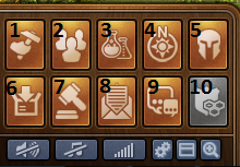 Forge of Empires menu gry