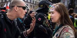 Postawiła się neonaziście. To zdjęcie obiegło świat