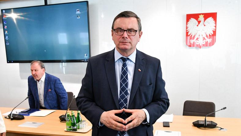 Poseł PiS, przewodniczący sejmowej Komisji Infrastruktury Jerzy Polaczek