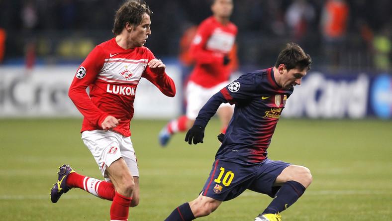 Barcelona kontra Spartak