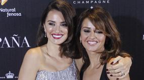 Penelope Cruz z siostrą na premierze w Madrycie. Która wyglądała lepiej?