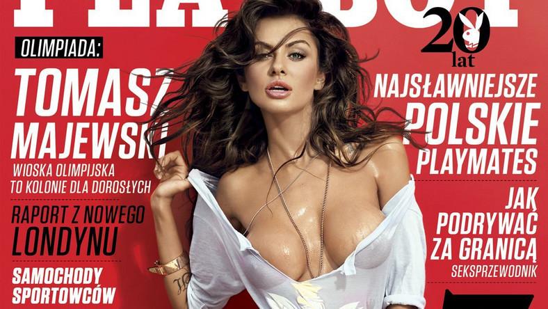 """27 lipca na półkach sklepów pojawi się nowy numer """"Playboya"""". Dla Miss Euro 2012 to już kolejna przygoda z magazynem dla mężczyzn. Siwiec zadebiutowała 6 lat temu na łamach magazynu """"CKM"""""""