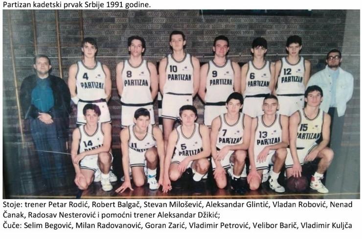 Kadetska ekipa Partizana