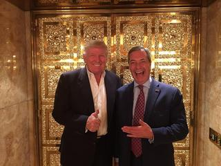Nigel Farage i Donald Trump