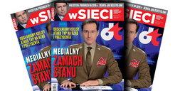Kraśko jako Jaruzelski! Szokująca okładka tygodnika