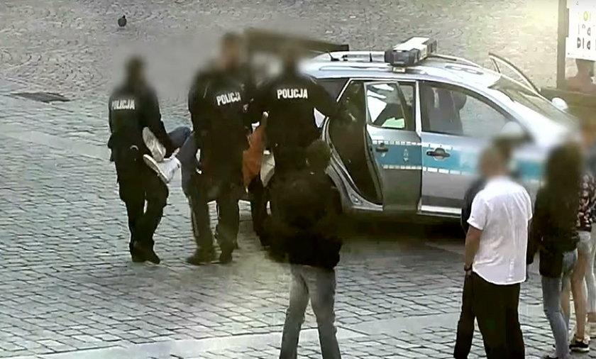 Igor został zatrzymany na wrocławskim rynku