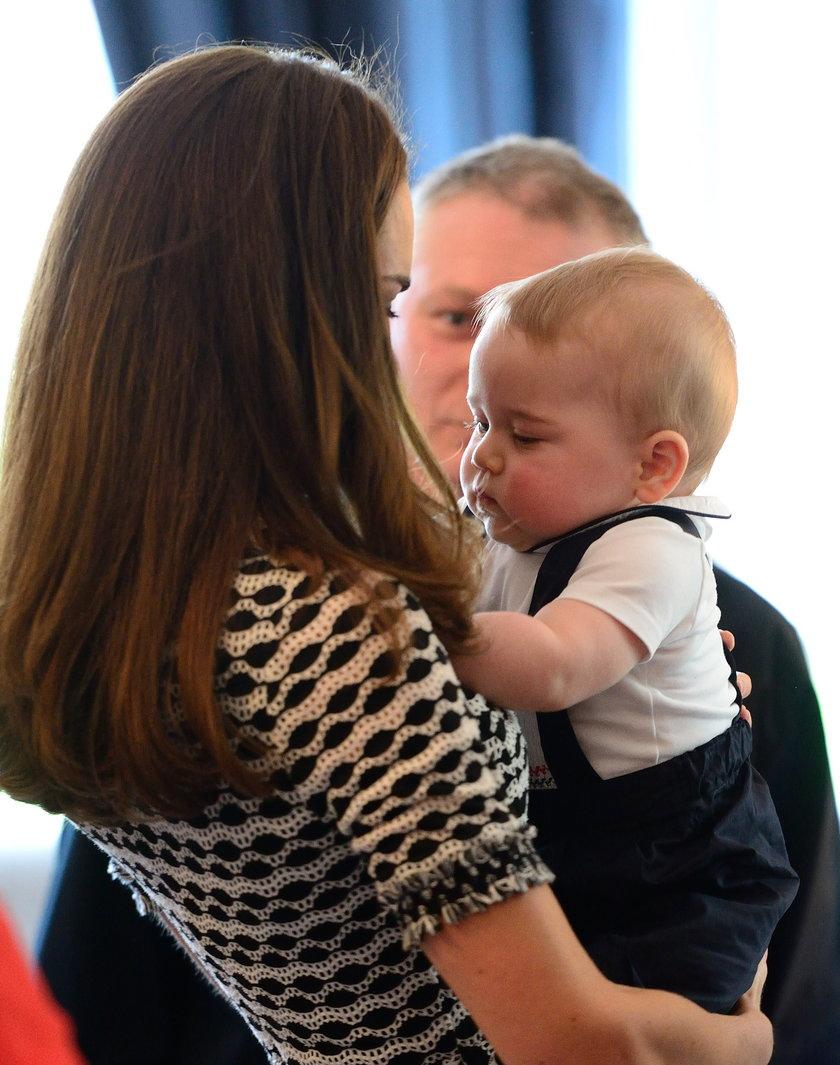 Księżna Kate z Jerzykiem