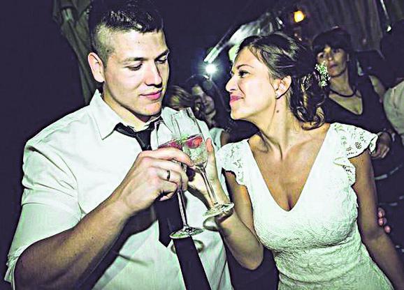 Kija i Sloba na svadbi