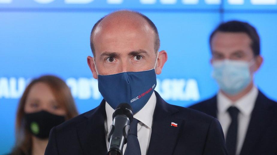 KO żąda zwołania Rady Bezpieczeństwa Narodowego w sprawie sytuacji na Ukrainie