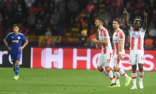 Fudbaleri Zvezde približili su Srbiju 15. mestu na rang listi pobedom protiv Olimpijakosa (3:1)