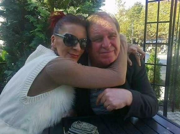 Aziz Salihu sa ćerkom Lidijom Milosavljević