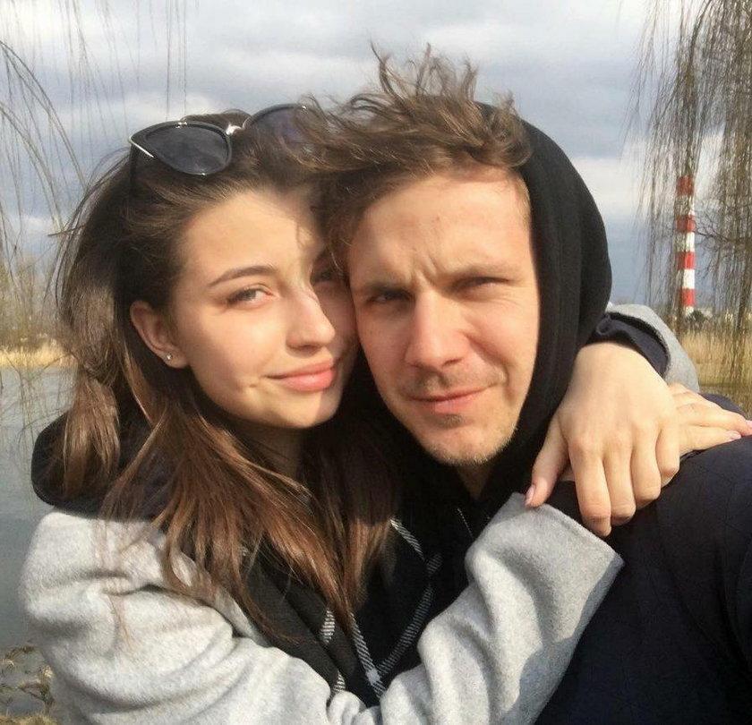 Julia Wieniawa i Antek Królikowski na wakacjach