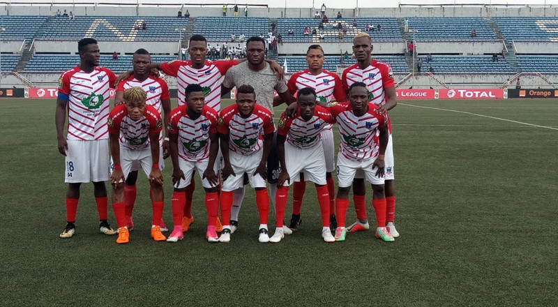 Lobi Stars players narrowly escape death as team bus catches fire