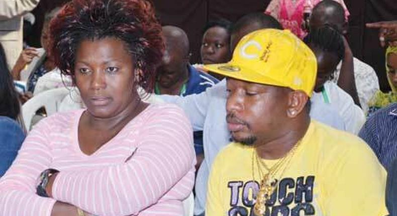 Nairobi Senator Mike Sonko and Woman Representative Rachael Shebesh