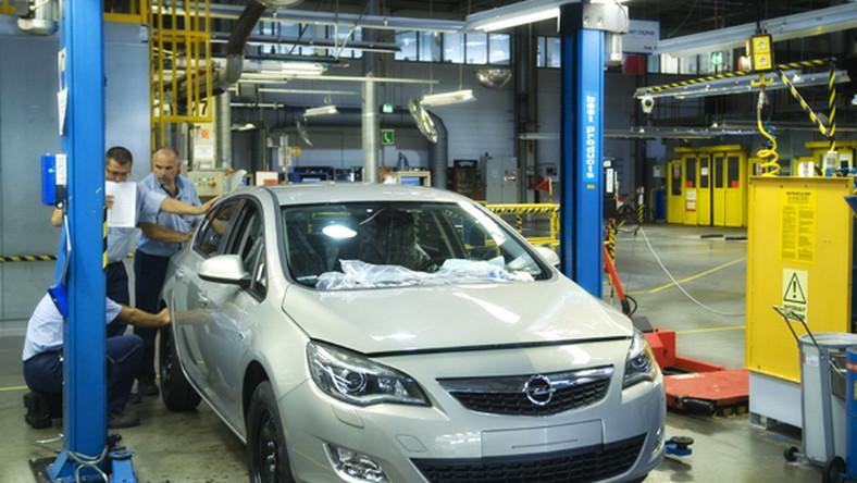 Niemcy kręcą na temat fabryki Opla w Polsce