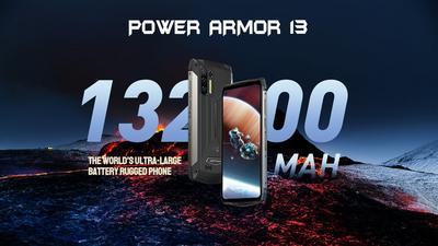 Ulefone Power Armor 13 to smartfon z baterią o pojemności aż 13200 mAh