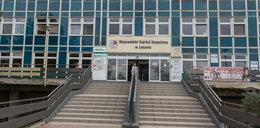 Koszmar w szpitalu w Lesznie. Pacjent wypadł z 6. piętra