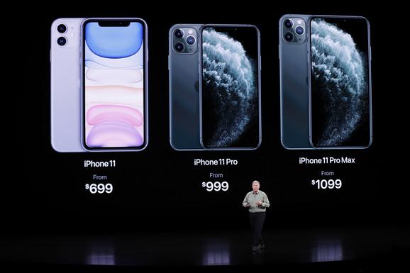 Nova linija Apple telefona