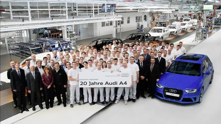 Zakłady Audi w Ingolstadt
