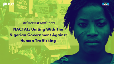 Blue Bus Frontliners: NACTAL's pivotal partnership with government against human trafficking