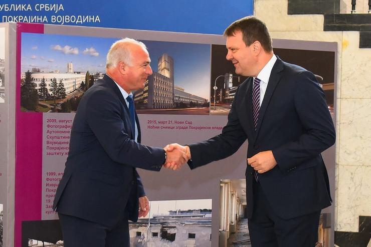 Predsednik Mirović primio predsednika Hrvatske zajednice županija