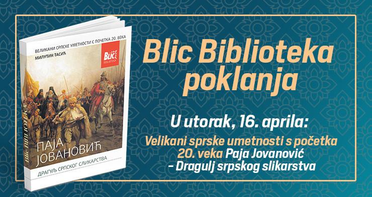 Knjiga o Paji Jovanoviću na poklon uz Blic