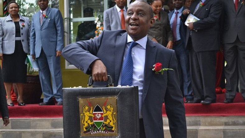 National Treasury Cabinet Secretary Henry Rotich