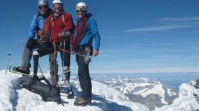 Niepełnosprawny Brytyjczyk bez rąk i stóp zdobył Matterhorn