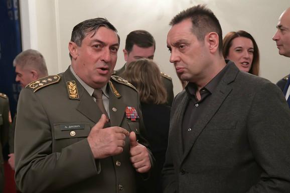 Ljubiša Diković i Aleksandar Vulin