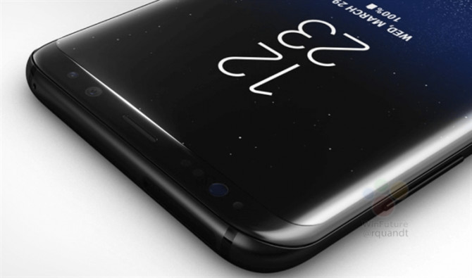 Samsung Galaxy S8 ma ekran z technologią Always on Display