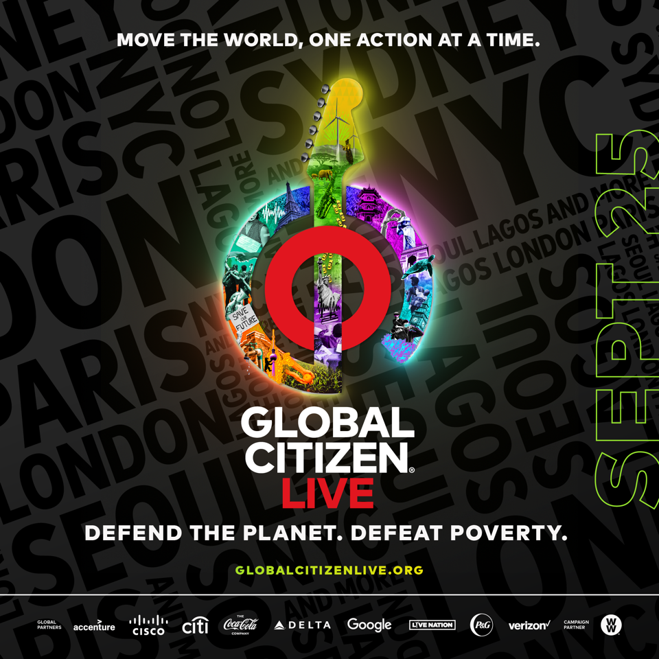Burna Boy, Prince Harry and Meghan, Others For Global Citizen Live Event