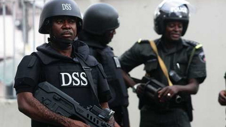 Department of State Services (DSS) officers.