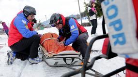 Ponad 1,5 tys. razy interweniowali już tej zimy goprowcy w Beskidach