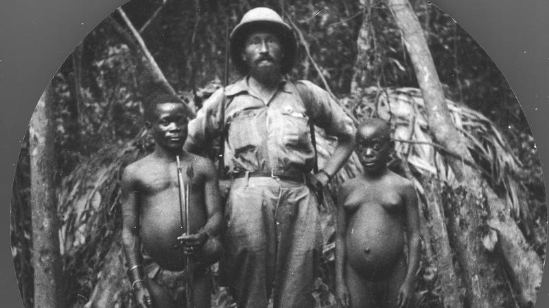 Kazimierz Nowak w Afryce