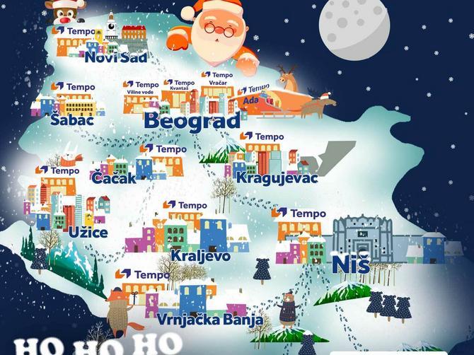 Od Laponije do Srbije: Gde se ove zime krije Deda Mraz?