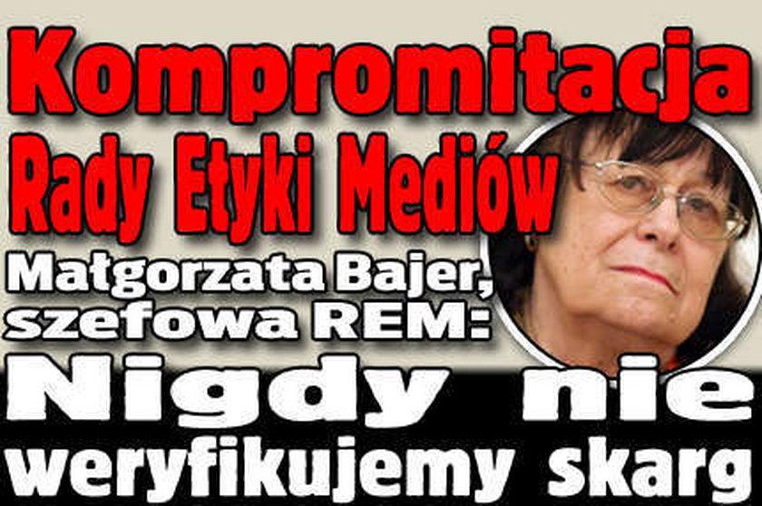 Kompromitacja Rady Etyki Mediów