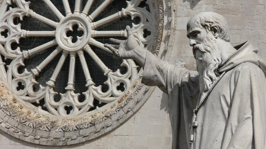 Figura św. Benedykta w Nursji, Włochy