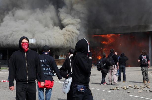 Zamieszki przed szczytem NATO