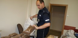 160 kg lewego tytoniu w rękach policji