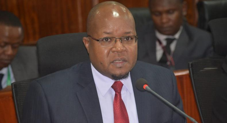 EPRA boss Pavel Oimeke who has been arrested by the EACC