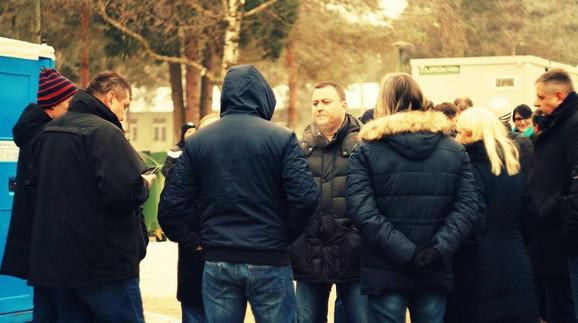 Čučković je nedavno posetio migrante u kasarni