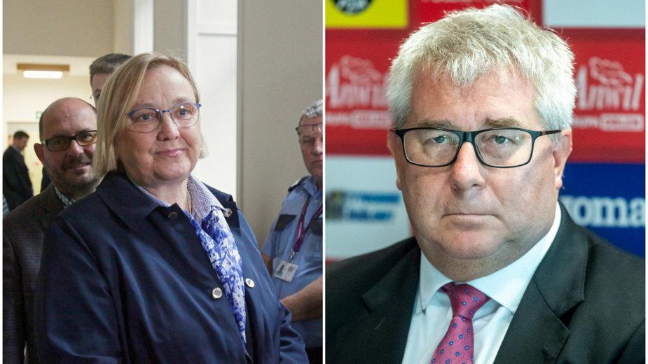Róża Thun wygrała proces z Ryszardem Czarneckim