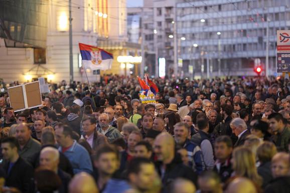 Protest '1 od 5 miliona': Isti zahtevi – nema povlačenja