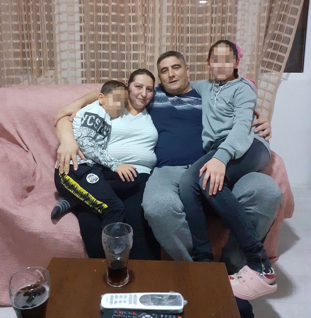 Dobitnica Maja Florić sa porodicom
