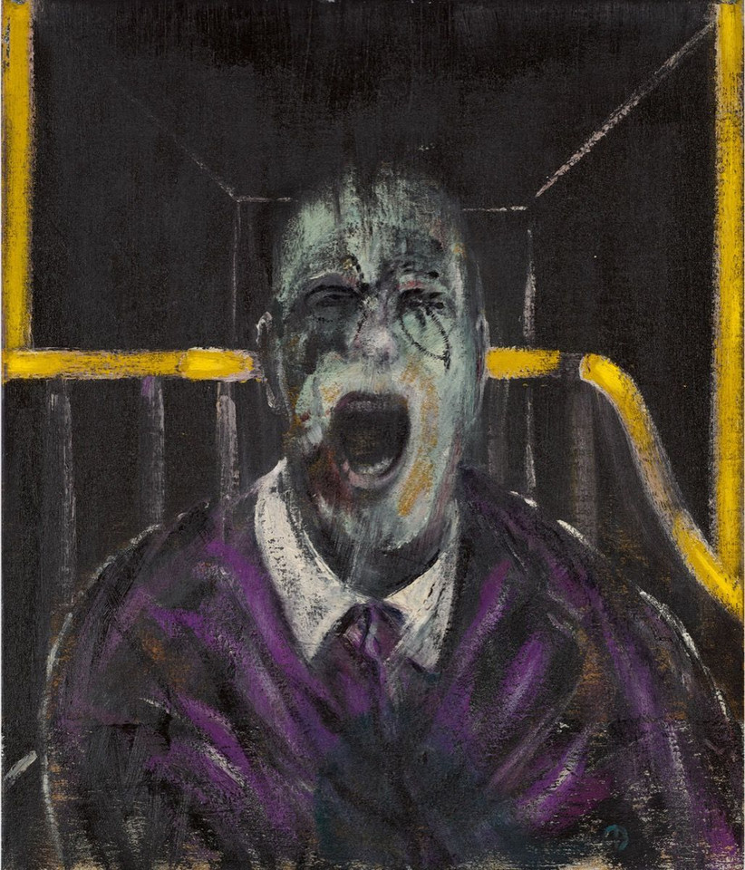 "Francis Bacon, ""Study for a Head"" (1952) - 50 380 000 dol."