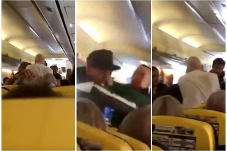tuča u avionu
