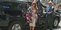 Jej płaszcz kosztuje tyle, co ekskluzywny samochód. Ładny?