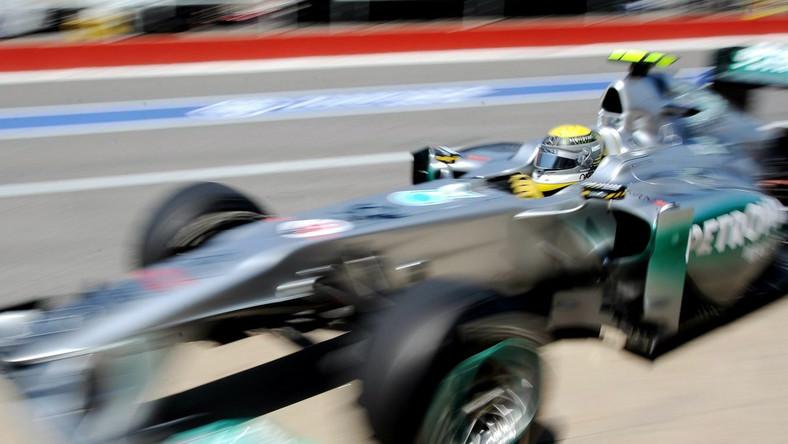 Rosberg najszybszy na pierwszym treningu
