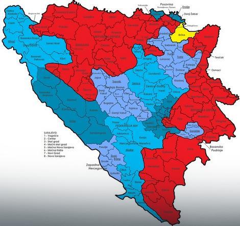 """Bosna u opasnosti da postane """"propala država"""""""
