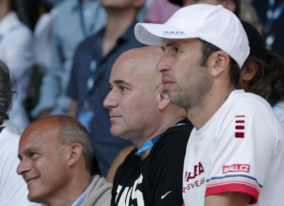 Andre Agasi i Radek Štepanek
